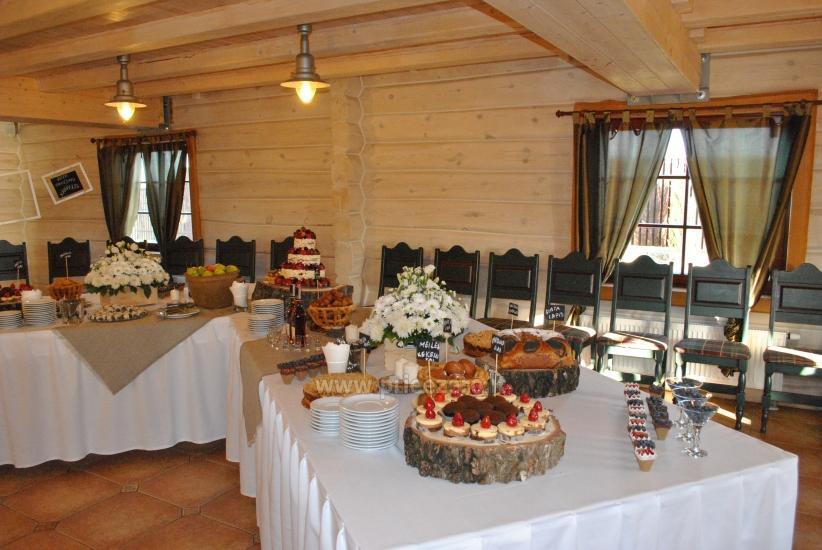 Dvarčėnų dvaras: jaukūs kambariai, pokylių, konferencijų salės, pirtis - 15