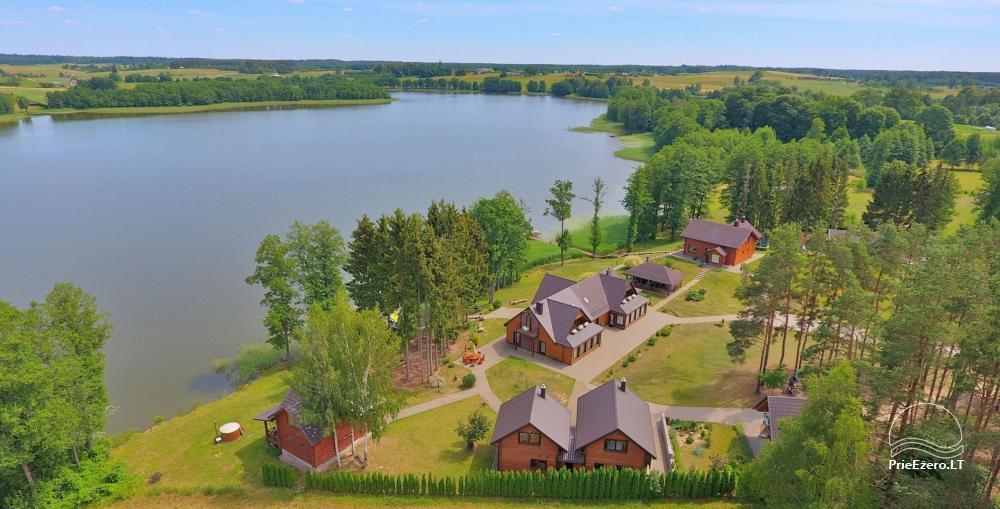 Genutės sodyba (+370 610 44650) prie Alovės ežero-vestuvės, pokylių salė, pirtis, kubilas - 1