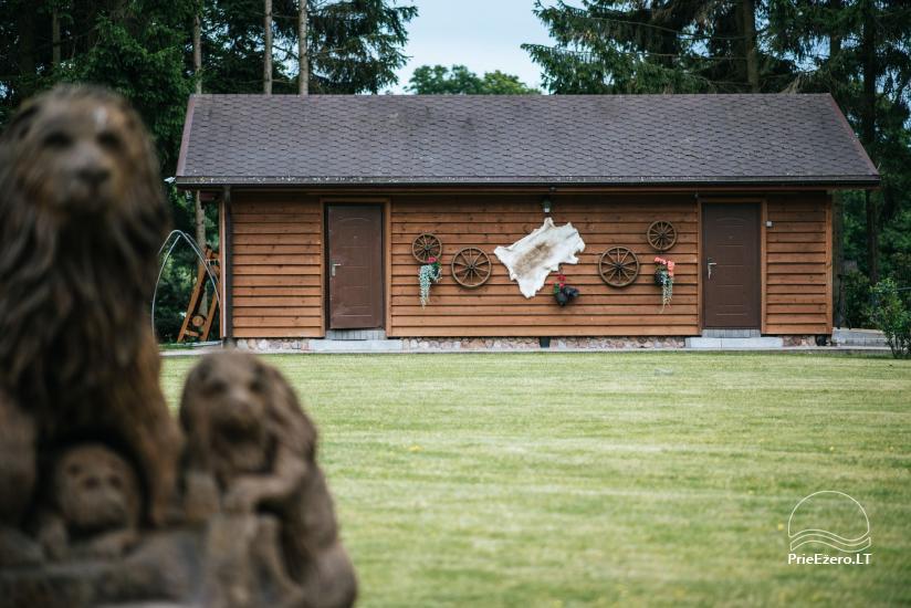 Genutės sodyba (+370 610 44650) prie Alovės ežero-vestuvės, pokylių salė, pirtis, kubilas - 12