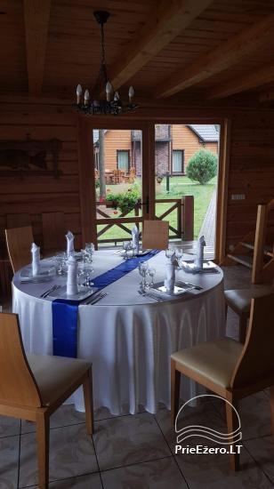 Genutės sodyba (+370 610 44650) prie Alovės ežero-vestuvės, pokylių salė, pirtis, kubilas - 22