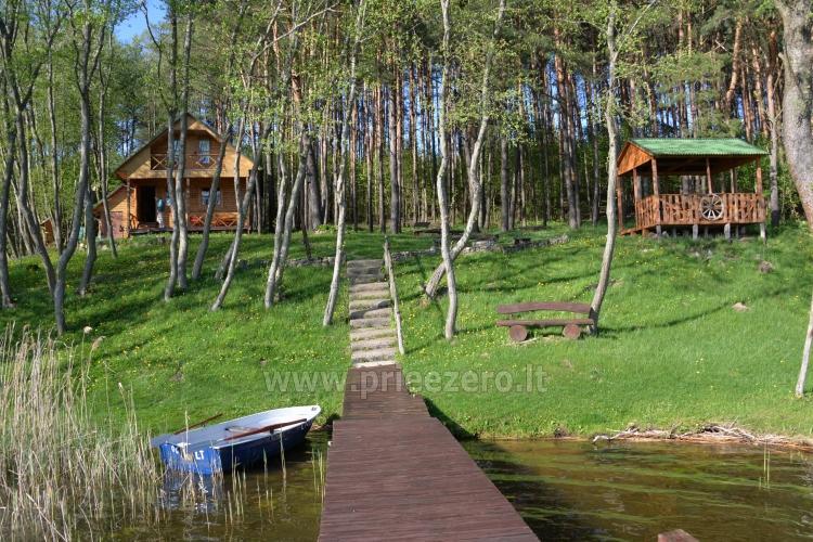 """Poilsio nameliai, pirtis sodyboje """"Žemuogynė"""" prie Gėlių ežero Molėtų rajone - 26"""