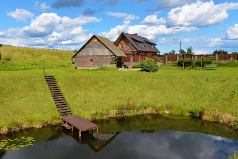 Romo sodyba prie Akmenės ežero 3 km iki Trakų - 11