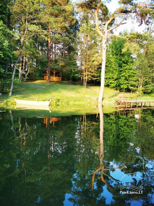 Mėgaukis pirtimi ant pačio ežero kranto - 8