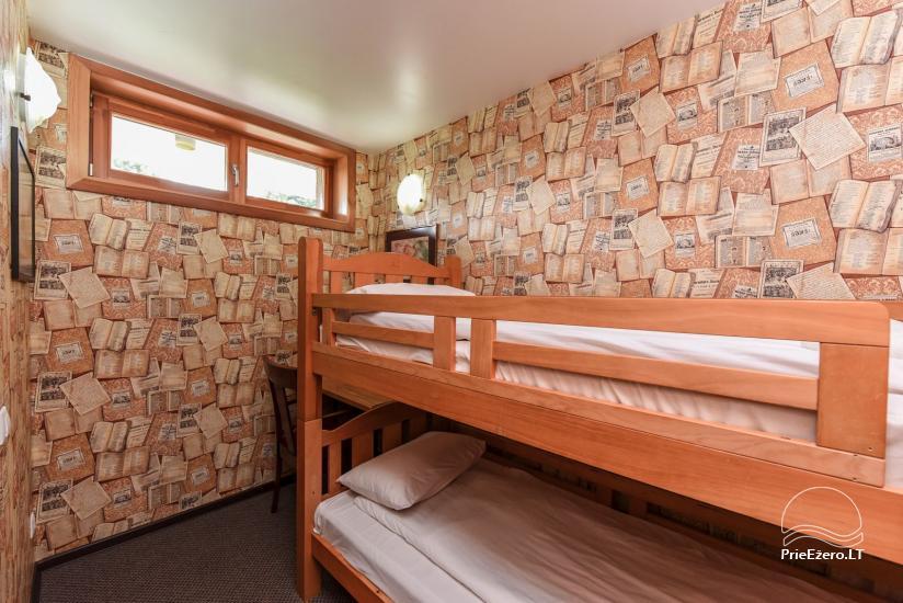 Kambariai ir liuksai viloje REGINA ant upės kranto netoli jūros - 82