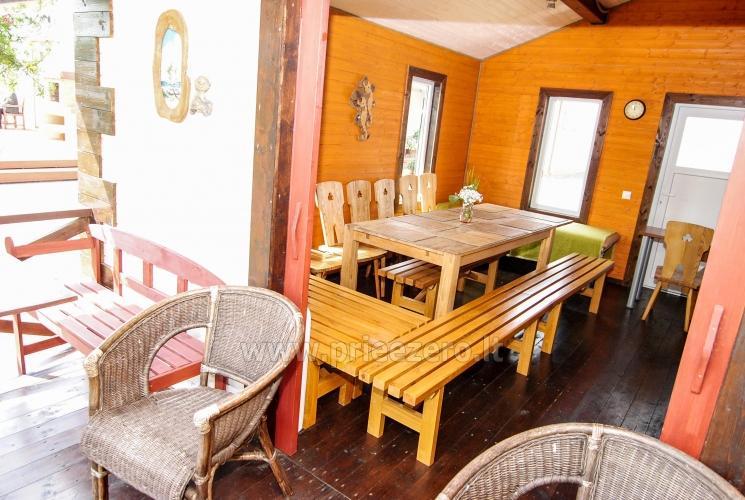Kambariai ir liuksai viloje REGINA ant upės kranto netoli jūros - 24