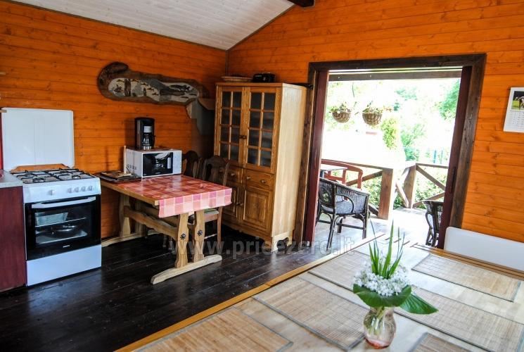 Kambariai ir liuksai viloje REGINA ant upės kranto netoli jūros - 26