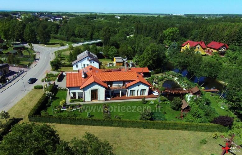 Kambariai ir liuksai poilsiui viloje Regina ant Šventosios upės kranto netoli jūros - 4