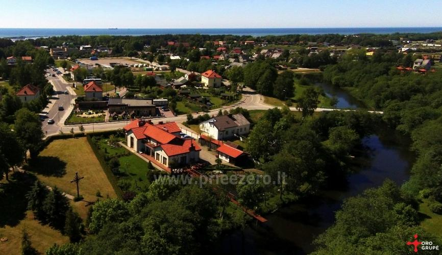 Kambariai ir liuksai poilsiui viloje Regina ant Šventosios upės kranto netoli jūros - 3