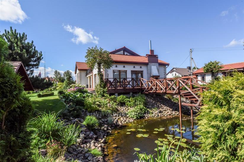 Kambariai ir liuksai viloje REGINA ant upės kranto netoli jūros - 8