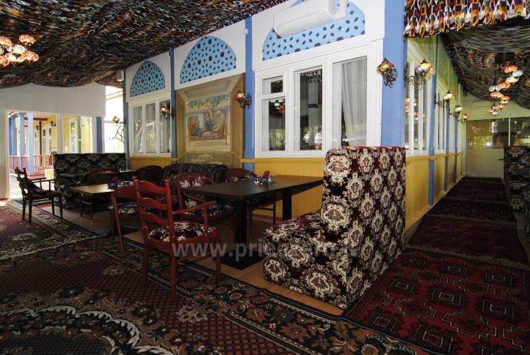 Svečių namų kavinė su terasa