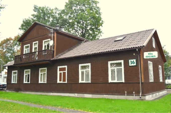 Svečių namai Vila Evelina Druskininkų centre:nemokamai sauna,dviračiai - 10
