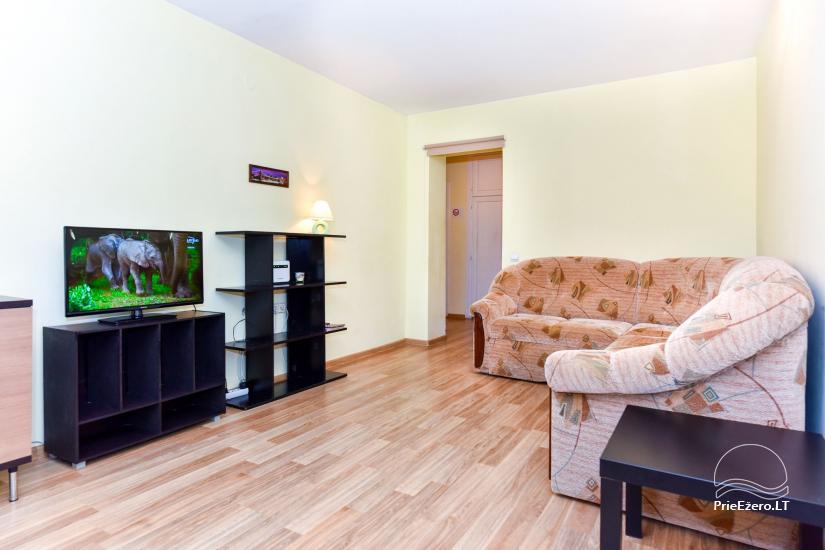 Dviejų kambarių butas Druskininkų centre su vaizdu į Druskonio ežerą - 4