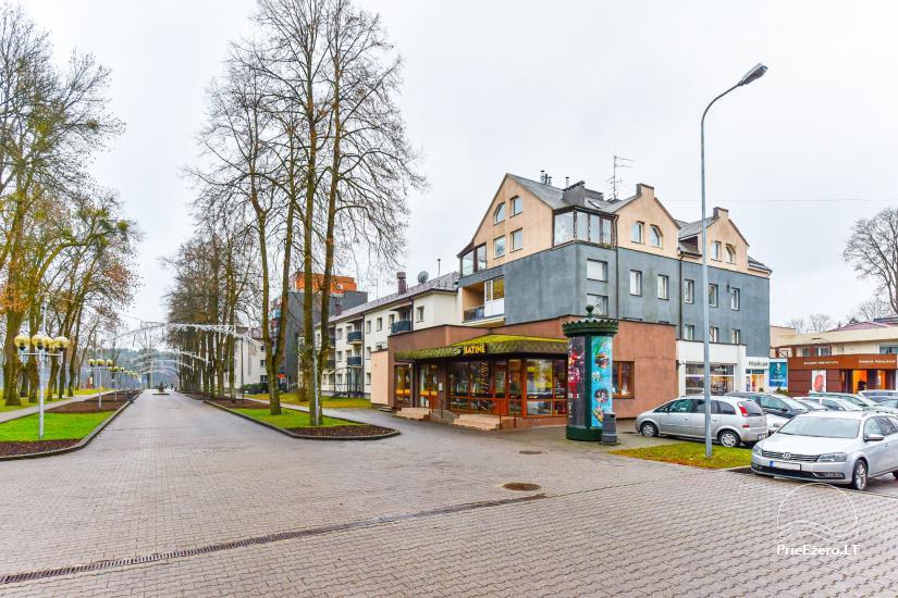 Dviejų kambarių butas Druskininkų centre su vaizdu į Druskonio ežerą - 1