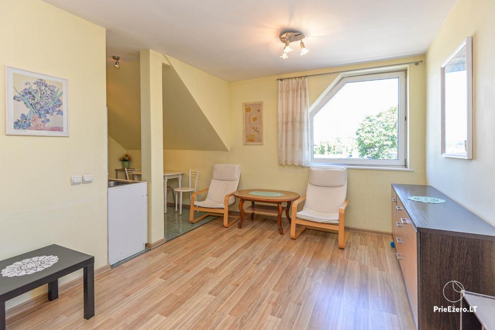 Dviejų kambarių butas Druskininkų centre su vaizdu į Druskonio ežerą - 8