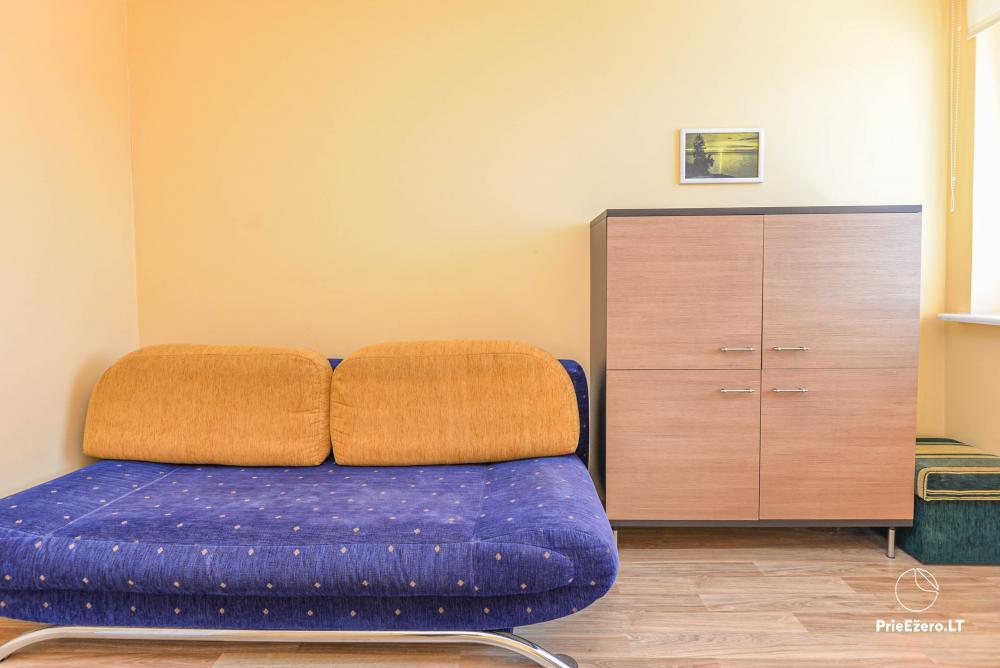 Dviejų kambarių butas Druskininkų centre su vaizdu į Druskonio ežerą - 7
