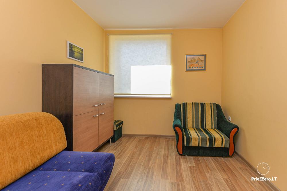Dviejų kambarių butas Druskininkų centre su vaizdu į Druskonio ežerą - 6