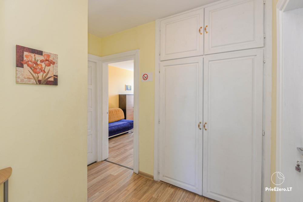 Dviejų kambarių butas Druskininkų centre su vaizdu į Druskonio ežerą - 10