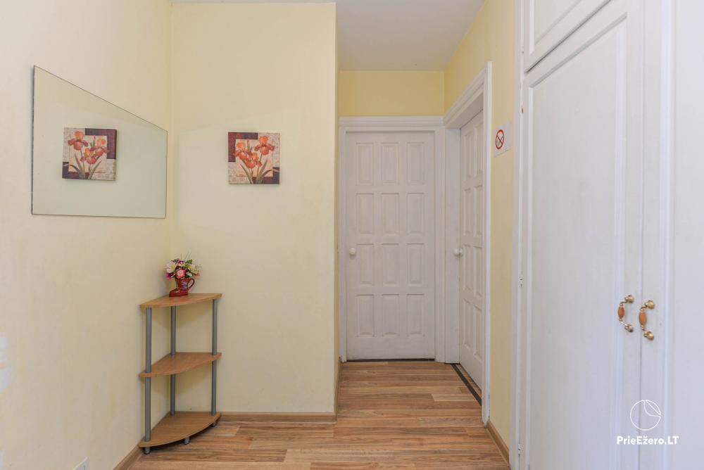 Dviejų kambarių butas Druskininkų centre su vaizdu į Druskonio ežerą - 11