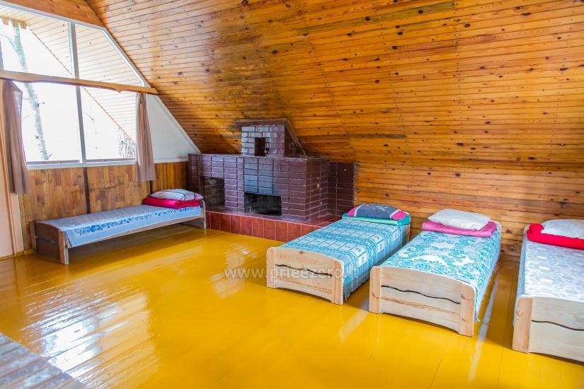 RŪTA - poilsio bazė prie Bebrusų ežero Molėtų rajone - 8