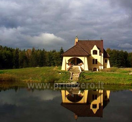 Poilsis Augustave Lenkijoje prie ežero ir prie upės Dom w lesie - 2