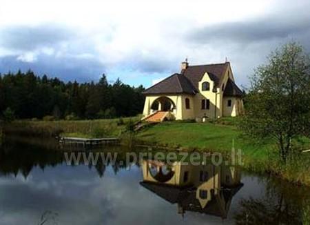 Poilsis Augustave Lenkijoje prie ežero ir prie upės Dom w lesie - 3