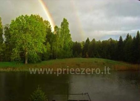 Poilsis Augustave Lenkijoje prie ežero ir prie upės Dom w lesie - 5