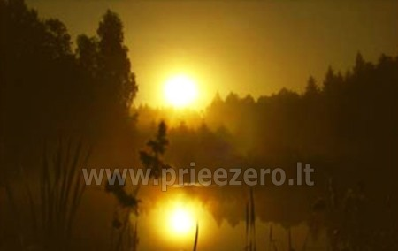 Poilsis Augustave Lenkijoje prie ežero ir prie upės Dom w lesie - 16