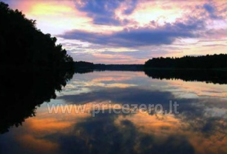 Poilsis Augustave Lenkijoje prie ežero ir prie upės Dom w lesie - 15