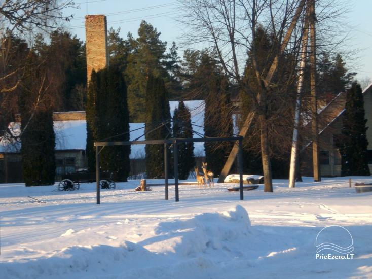 Senoji Sodyba Anykščių rajone prie Šventosios upės - namelių nuoma šventėms bei šeimos, draugų poilsiui - 13