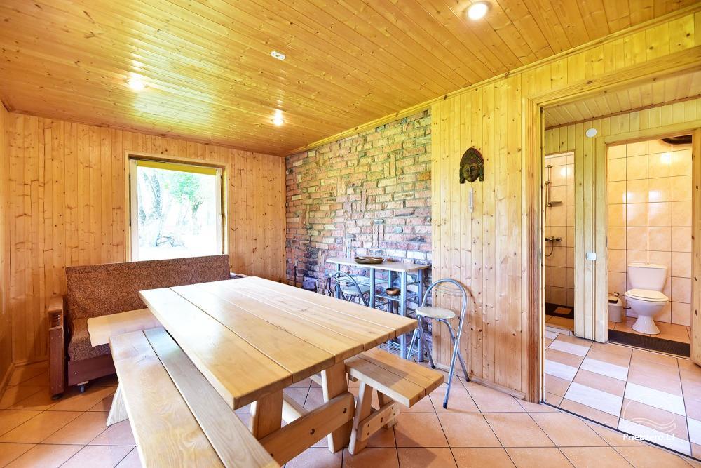 Senoji Sodyba Anykščių rajone prie Šventosios upės - namelių nuoma šventėms bei šeimos, draugų poilsiui - 44