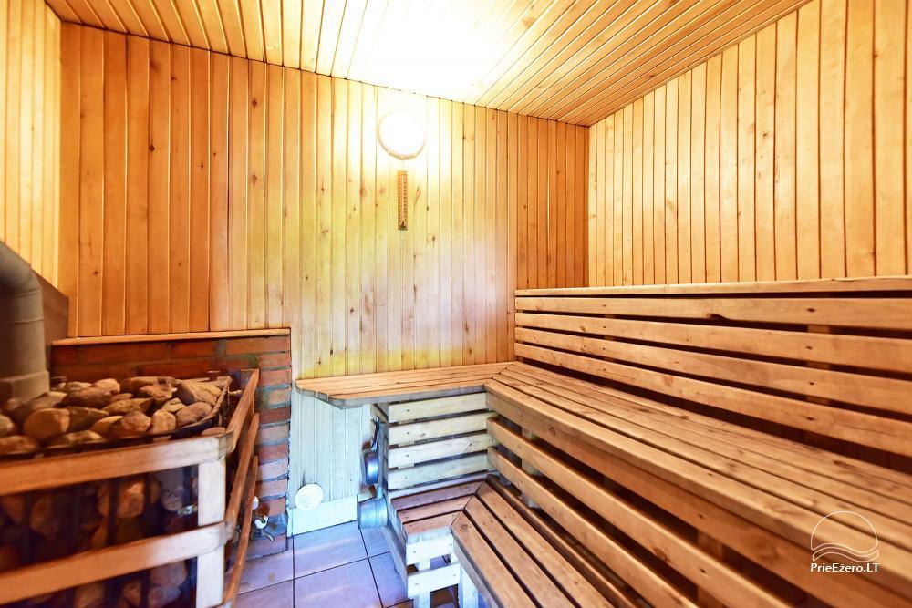 Senoji Sodyba Anykščių rajone prie Šventosios upės - namelių nuoma šventėms bei šeimos, draugų poilsiui - 46