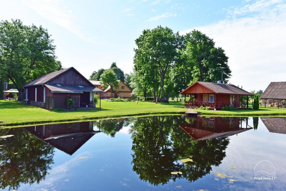 Senoji Sodyba Anykščių rajone prie Šventosios upės - namelių nuoma šventėms bei šeimos, draugų poilsiui - 36