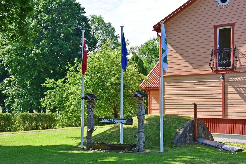 Senoji Sodyba Anykščių rajone prie Šventosios upės - namelių nuoma šventėms bei šeimos, draugų poilsiui - 8