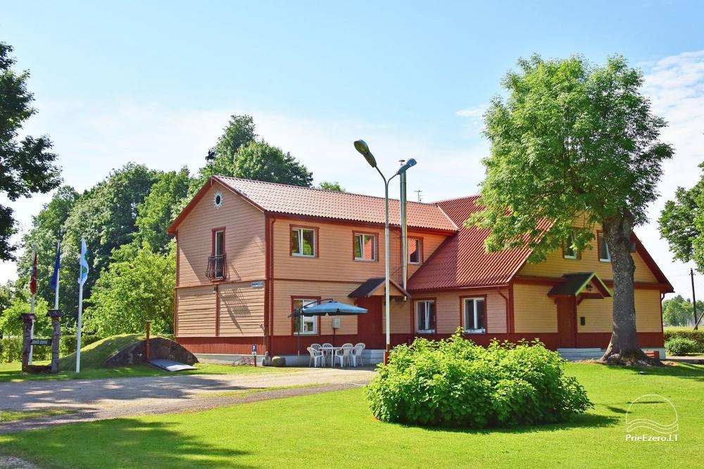 Senoji Sodyba Anykščių rajone prie Šventosios upės - namelių nuoma šventėms bei šeimos, draugų poilsiui - 1