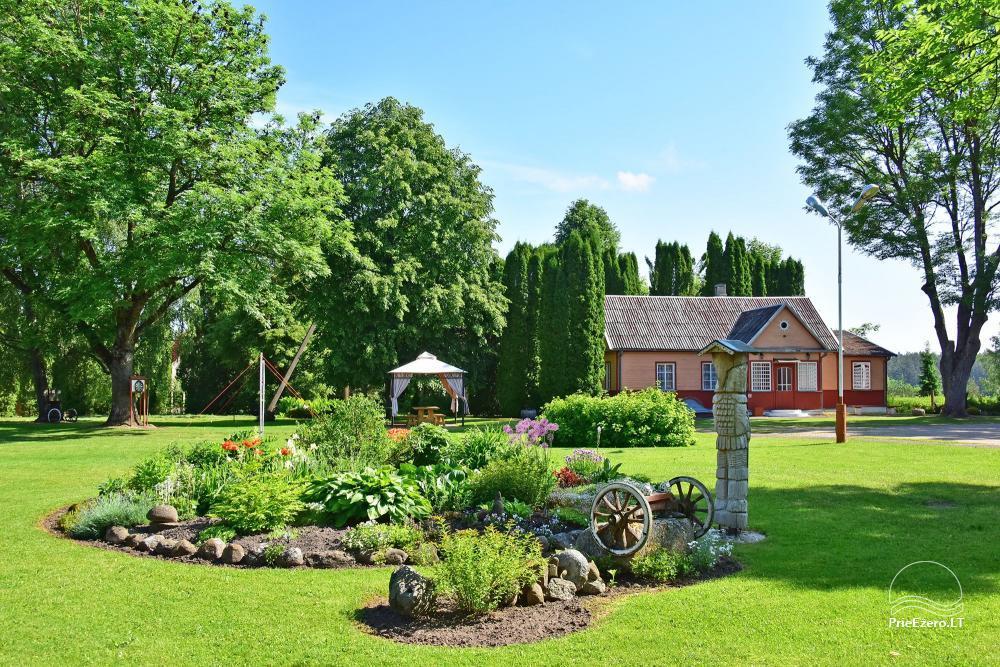 Senoji Sodyba Anykščių rajone prie Šventosios upės - namelių nuoma šventėms bei šeimos, draugų poilsiui - 28