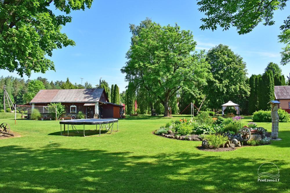 Senoji Sodyba Anykščių rajone prie Šventosios upės - namelių nuoma šventėms bei šeimos, draugų poilsiui - 48