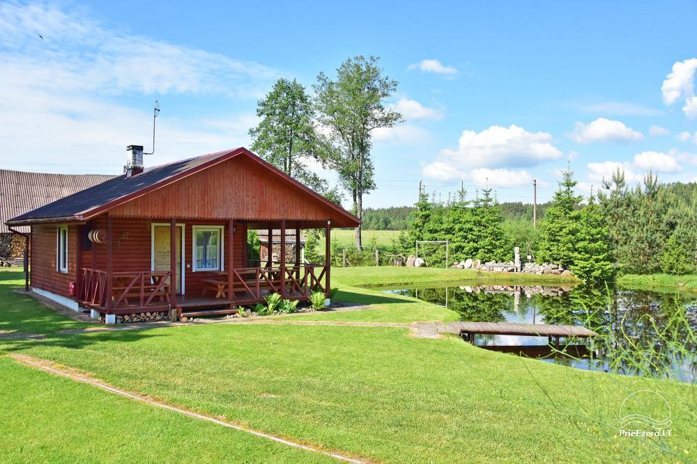 Senoji Sodyba Anykščių rajone prie Šventosios upės - namelių nuoma šventėms bei šeimos, draugų poilsiui - 42
