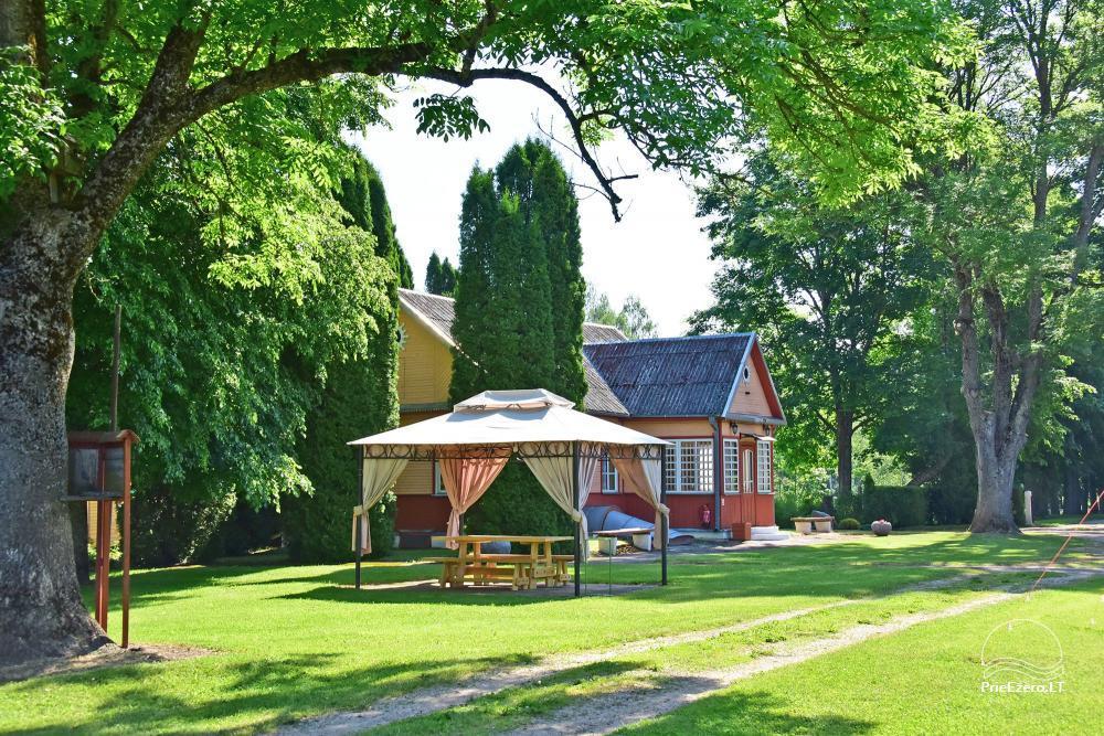 Senoji Sodyba Anykščių rajone prie Šventosios upės - namelių nuoma šventėms bei šeimos, draugų poilsiui - 29