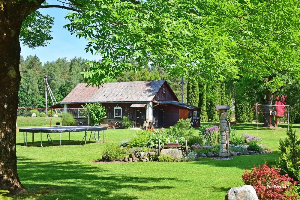 Senoji Sodyba Anykščių rajone prie Šventosios upės - namelių nuoma šventėms bei šeimos, draugų poilsiui - 49