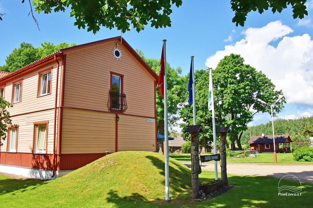 Senoji Sodyba Anykščių rajone prie Šventosios upės - namelių nuoma šventėms bei šeimos, draugų poilsiui - 7