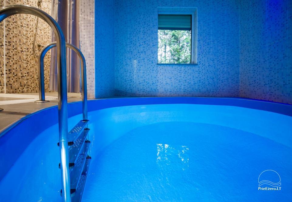 Pirtis, baseinas, banketinė salė, nakvynė sodyboje Smiltelė - 27