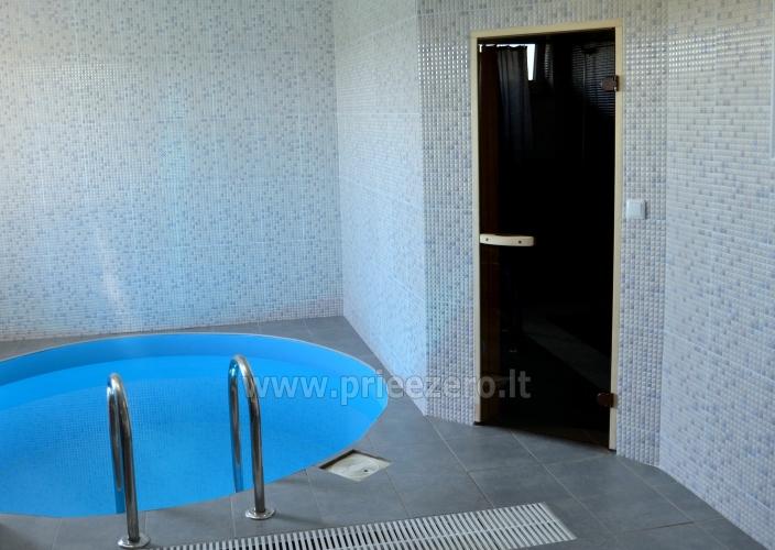 Pirtis, baseinas, banketinė salė, nakvynė sodyboje Smiltelė - 21