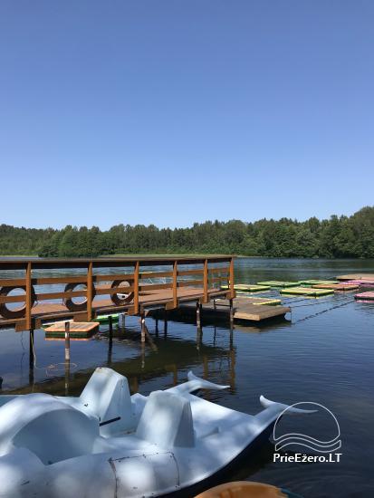 Sodybos nuoma.Atskirų namukų su patogumais nuoma prie ežero. Pirties namo nuoma - 13
