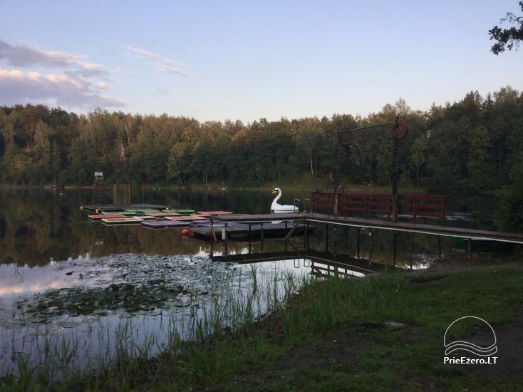 Sodybos nuoma.Atskirų namukų su patogumais nuoma prie ežero. Pirties namo nuoma - 20