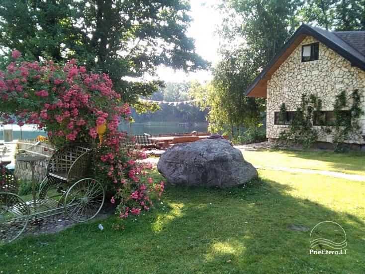 Sodybos nuoma.Atskirų namukų su patogumais nuoma prie ežero. Pirties namo nuoma - 21