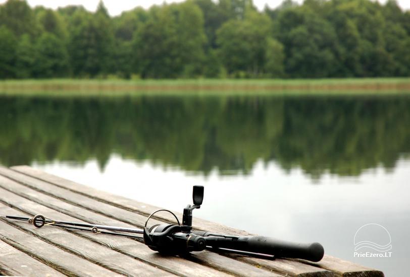 Sodyba Pas tėvukus Žemaitijos nacionaliniame parke ant Beržoro ežero kranto. - 7