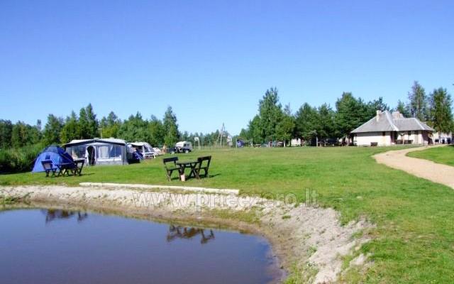 Poilsio namai Aulaukio Baltija Papėje, arti jūros ir Papės ežero - 9