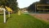 Šalia sodybos nauja sporto ir vaikų žaidimų aikštelė
