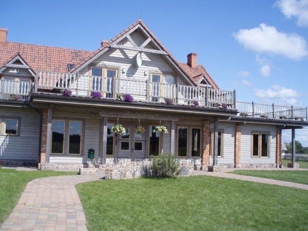 Svečių namai ir kempingas prie upės Ventspilio rajone Ventaskrasti - 1