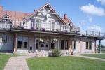 Svečių namai ir kempingas prie upės Ventspilio rajone Ventaskrasti